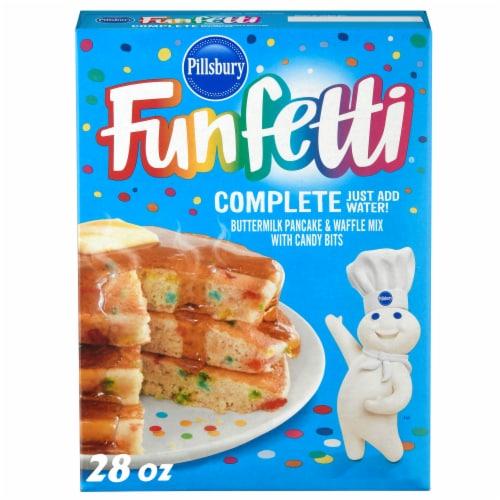 Pillsbury Funfetti Buttermilk Pancake and Waffle Mix Perspective: front