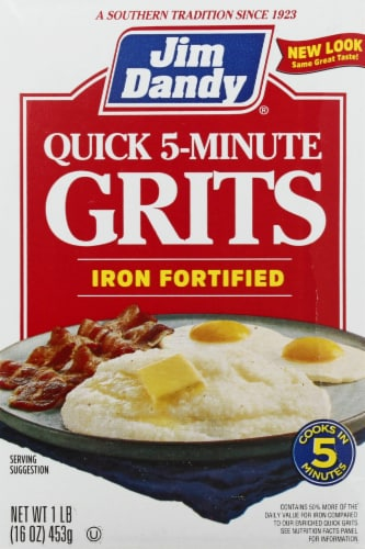 Jim Dandy Iron Fortified Quick Grits Perspective: front