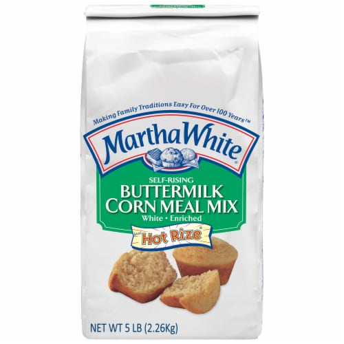 Martha White Buttermilk Corn Meal Mix Perspective: front