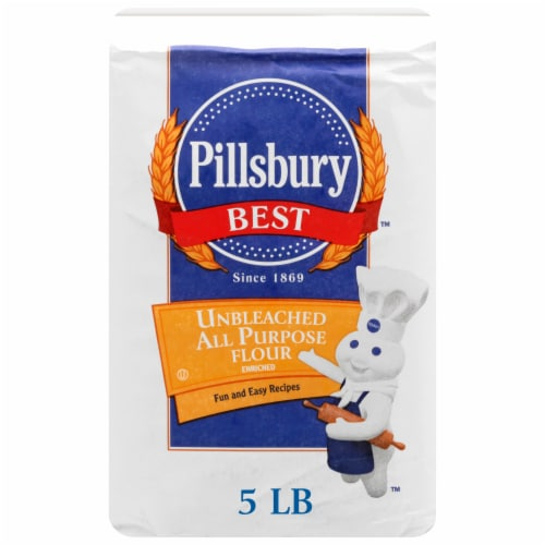 Pillsbury Best Unbleached All Purpose Flour Perspective: front