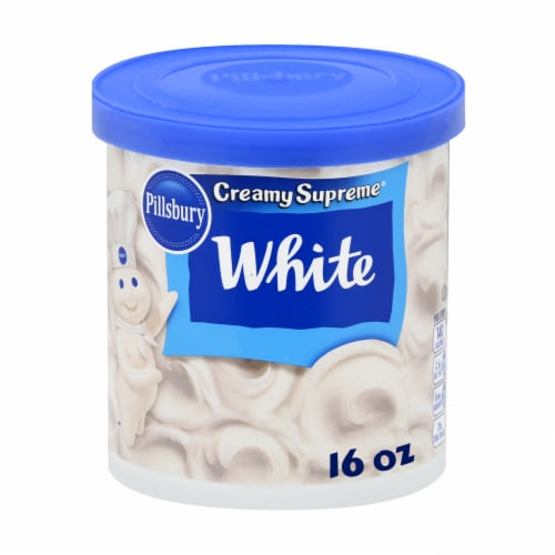 Pillsbury Creamy Supreme White Frosting Perspective: front