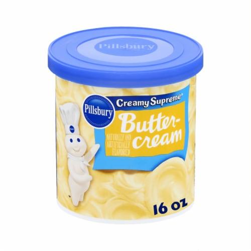 Pillsbury Buttercream Frosting Perspective: front