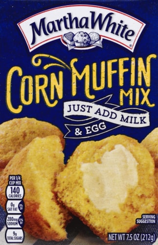 Martha White Yellow Corn Muffin Mix Perspective: front