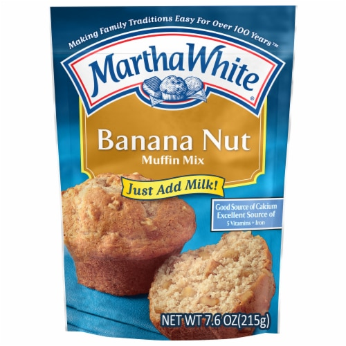 Martha White Banana Nut Muffin Mix Perspective: front
