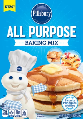 Pillsbury All Purpose Baking Mix Perspective: front