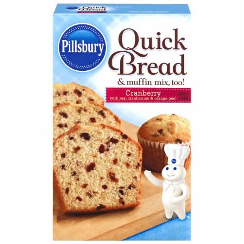 Pillsbury Cranberry Quick Bread Mix Perspective: front