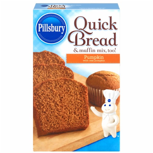 Pillsbury Pumpkin Quick Bread Mix Perspective: front