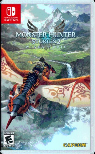 Monster Hunter Stories 2: Wings Of Ruin (Nintendo Switch) Perspective: front