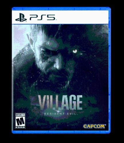 Resident Evil Village (PlayStation 5) Perspective: front