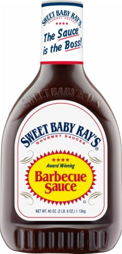 Sweet Baby Ray's Original Barbecue Sauce Perspective: front