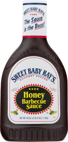 Sweet Baby Ray's Honey Barbecue Sauce Perspective: front