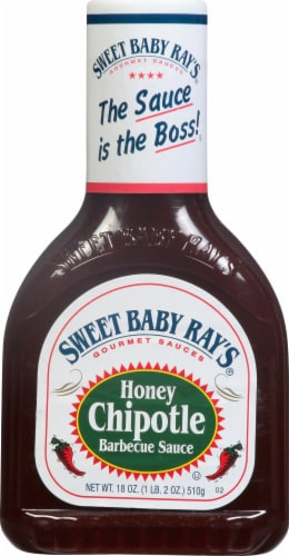 Sweet Baby Ray's Honey Chipotle Barbecue Sauce Perspective: front