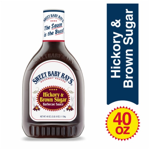 Sweet Baby Ray's Hickory & Brown Sugar Barbecue Sauce Perspective: front