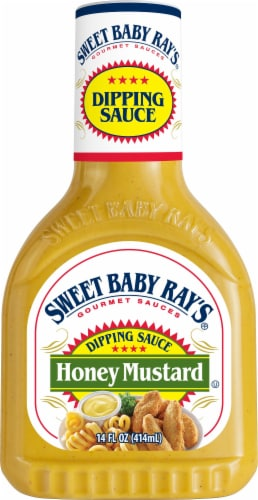 Sweet Baby Ray's Honey Mustard Dipping Sauce Perspective: front