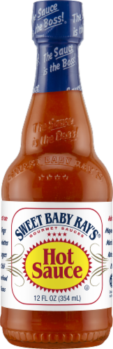 Sweet Baby Ray's Hot Sauce Gourmet Sauce Perspective: front