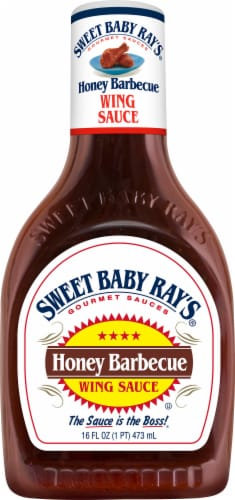 Sweet Baby Ray's Honey Barbecue Wing Sauce Perspective: front
