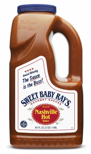 Sweet Baby Ray's Nashville Hot Sauce Perspective: front