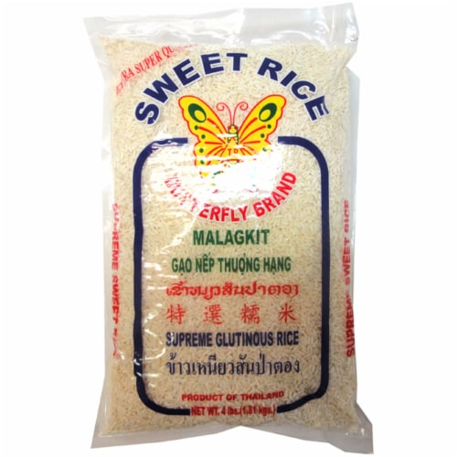 Butterfly Brand Sweet Rice Perspective: front