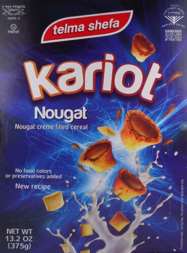 Telma Kariot Nougt Cereal Perspective: front
