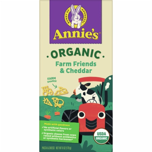Annie's Organic Bernie's Farm Macaroni and Cheese Perspective: front