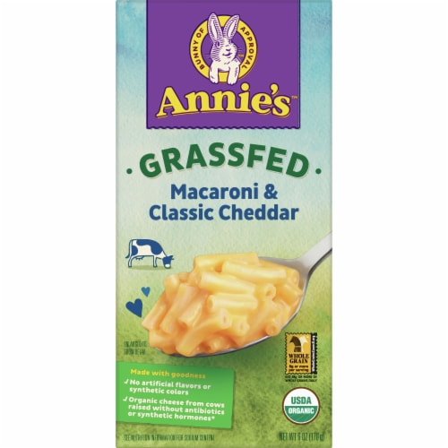 Annie's Organic Mild Cheddar Macaroni and Cheese Perspective: front