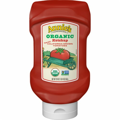 Annie's Organic Ketchup Perspective: front