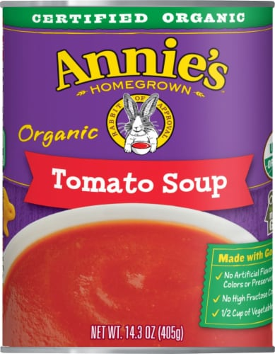 Annie's Organic Tomato Soup Perspective: front