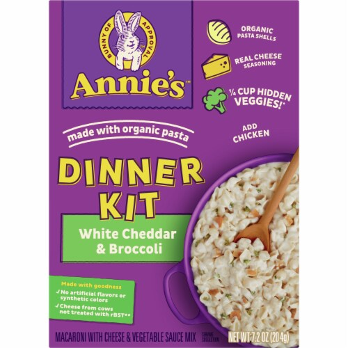 Annie's Organic White Chedder Broccoli Mac One-Pot Pasta Perspective: front