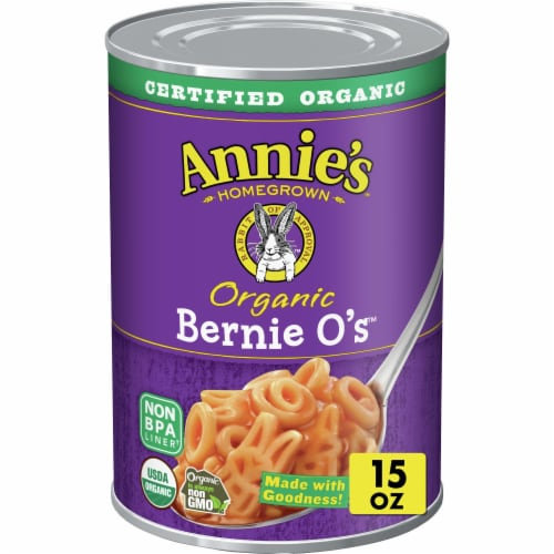 Annie's Organic Bernie O's Pasta In Tomato & Cheese Sauce Perspective: front