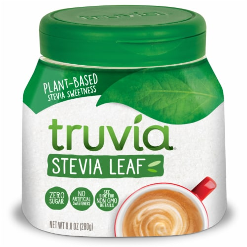 Truvia Naturally Sweet Calorie-Free Stevia Sweetener Perspective: front