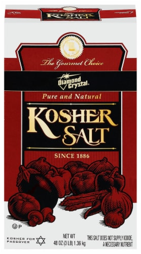 Diamond Crystal Kosher Salt Perspective: front
