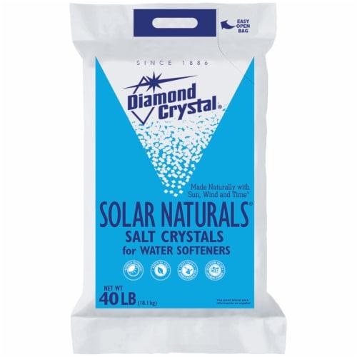 Diamond Crystal Solar Naturals Salt Perspective: front