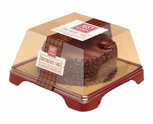 Just Desserts Chocolate Cake Perspective: front