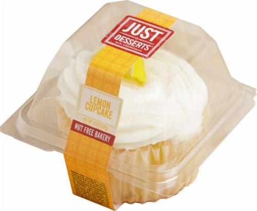 Just Desserts Lemon Cupcake Perspective: front