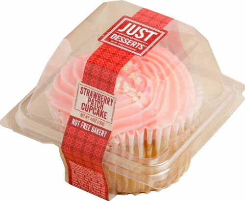 Just Desserts Strawberry Patch Cupcake Perspective: front