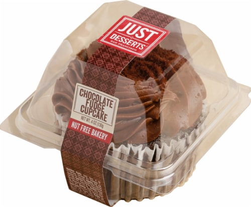 Just Desserts Chocolate Fudge Cupcake Perspective: front