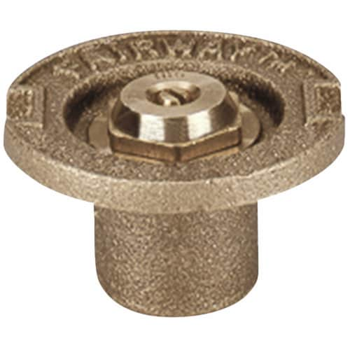 Champion Half Circle 1/2 In. FPT Brass Flush Head Sprinkler 17SH Perspective: front