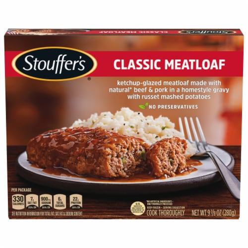 Stouffer's Classic Meatloaf Frozen Meal Perspective: front