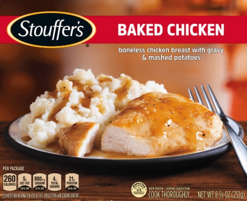 Stouffer's Classics Baked Chicken Breast Frozen Meal Perspective: front