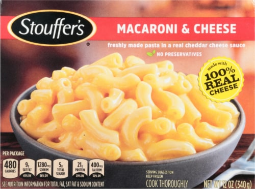 Stouffer's Macaroni & Cheese Frozen Meal Perspective: front