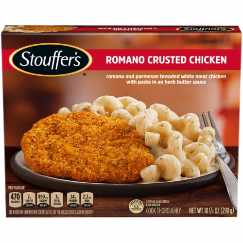 Stouffer's Romano Crusted Chicken Frozen Dinner Perspective: front