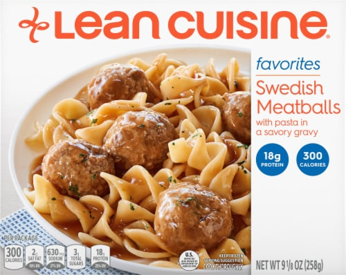 Lean Cuisine Favorites Swedish Meatballs Frozen Meal Perspective: front