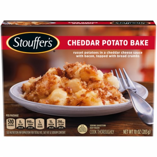 Stouffer's Cheddar Potato Bake Frozen Meal Perspective: front