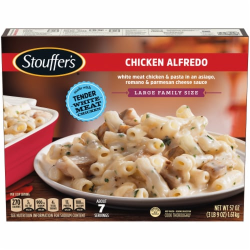 Stouffer's Classics Chicken Alfredo Large Family Size Frozen Meal Perspective: front