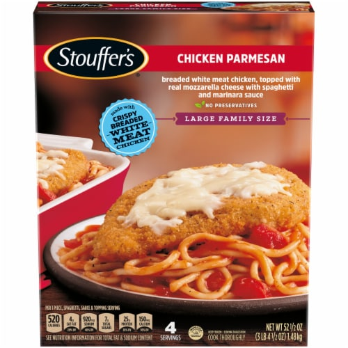 Stouffer's Large Family Size Chicken Parmesan Frozen Meal Perspective: front
