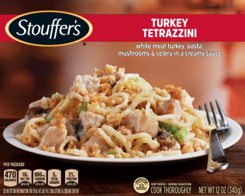 Stouffer's Turkey Tetrazzini Frozen Meal Perspective: front