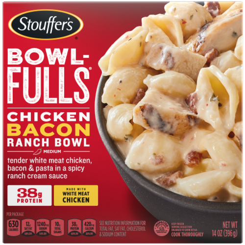 Stouffer's Bowl-Fulls Chicken Bacon Ranch Frozen Meal Perspective: front