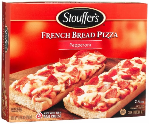 Stouffers, Pepperoni Pizza, 11.25 oz. (10 count) Perspective: front