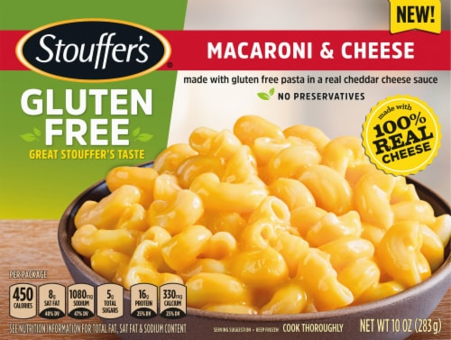 Stouffer's Gluten Free Macaroni & Cheese Frozen Meal Perspective: front