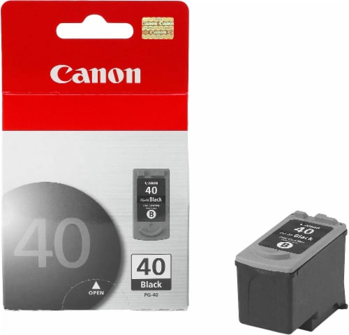 Canon PG-40 Ink Cartridge - Black Perspective: front